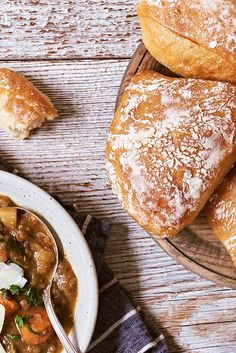 A ciabatta-inspired roll perfect for soup. Sandwich Recipes, Bread Recipes, Artisan Rolls, Italian Rolls, Yeast Starter, How To Make Bread, Bread Making, Best Oven, Baking Stone