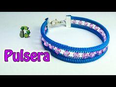 201. Manualidades: Pulsera con cremallera/zipper (Reciclaje) Ecobrisa.