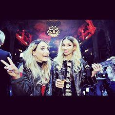 Swedish grammys 2012 happiest Girls alive with the best Dance Music award!! | Rebecca Scheja & Fiona FitzPatrick | #Rebecca_and_Fiona #edm #stylish #sweden #djs #female_djs