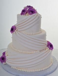 violet wedding cakes - Cake Designs Ideas