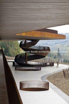 cantina antinori, by archea, chianti, italy  Mmmm. Architecture, nature, a view....