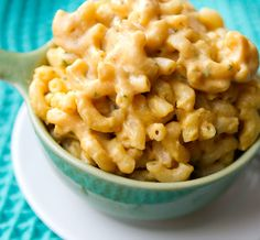 Faux Mac n' Cheese from Healthy Happy Life #vegan