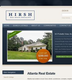 Hirsh Real Estate Specialistslocated at 4200 Northside Pkwy, Bldg 7, Atlanta GA 30363 offers Real Estate Agents. Be sure to follow us directly on our social profiles below.