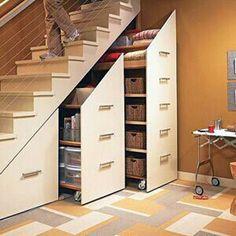 Aklınızı Başından Alacak Muhteşem Merdiven Altı Tasarımları