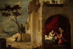 Jacob bendecido por Isaac Bartolomé Murillo