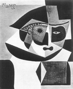 "Pablo Picasso - ""Head of Harlequin"", 1923"