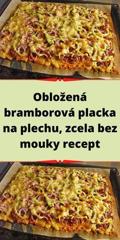 Slovak Recipes, Lasagna, Ethnic Recipes, Hawaiian Pizza, Chicken, Meat, Food, Halloween, Red Peppers