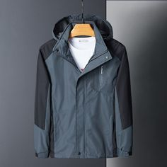 2019 Casual Waterproof Jacket Quick Drying Breathable Sport Outdoor Hiking Ski Coat Winter Jacket Me Cowboy Boots Women, Cowgirl Boots, Western Boots, Riding Boots, Timberland Style, Timberland Fashion, Hiking Jacket, Fashionable Snow Boots, Sport Outdoor
