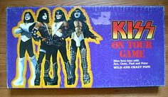 We toured everyday with this kissboatd game! Kiss Memorabilia, Kiss Merchandise, Game Museum, Rock And Roll Fantasy, Vintage Kiss, Kiss Art, Modern Games, Vintage Board Games, Retro Gamer