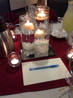 Canadian Honker Events at Apace, Rochester MN #weddings #decor #centerpieces #pearls