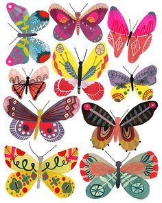 Butterflies, Girl, print of my original painting diy tattoo - diy tattoo images - diy tattoo ideas - Butterfly Illustration, Butterfly Drawing, Butterfly Tattoo Designs, Illustration Art, Butterfly Painting, Mundo Hippie, Tattoo Diy, Original Paintings, Art Paintings