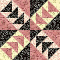 Windmills, a Free Quilt Block Pattern: Meet the Windmills Quilt Block Pattern