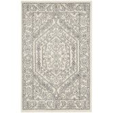 Found it at AllModern - Barson Ivory & Silver Area Rug