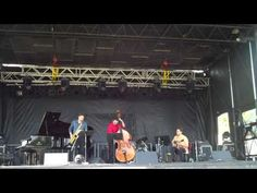 """Day Of The Aphids (aka """"I Had a Hat"""") - Reg Schwager, guitar, David French, saxophone, Michel Lambert, drums, Victor Bateman, bass, in concert at the Jazz Sudbury Festival, September 12, 2009"""