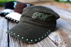 Cowgirl Swank Custom Caps