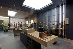 New Timberland concept store at Westfield Stratford City in London, England by Dalziel and Pow