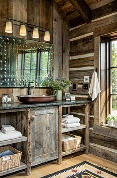 Rustic Log Homes Pinterest: Crackpot Baby