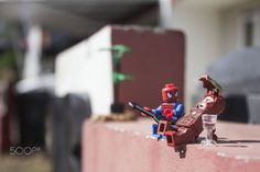 Singing After Training - Ironman : Your singing is worse than your swing  Spidy : C'mon old man, i've been practiced this...