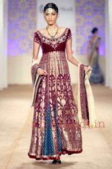 Anju Modi bridal collection - wedding dress collection   My Shaadi