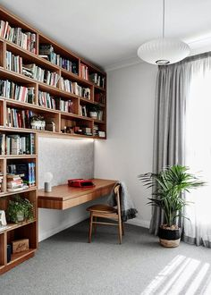 Insane Tips Can Change Your Life: Minimalist Home Pictures Living Rooms minimalist bedroom teen dorm room.Minimalist Home Tour Signs minimalist bedroom ideas pictures.Rustic Minimalist Home Small Spaces. home Astonishing Maison Minimalist Ideas Home Library Rooms, Home Library Design, Home Libraries, Home Office Design, Home Design, Design Ideas, Library Ideas, Library Bedroom, Library Wall