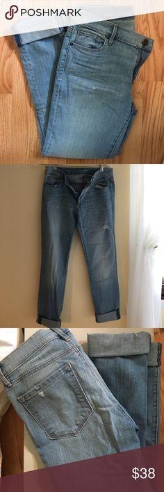 Loft crop modern skinny jeans Excellent condition LOFT Jeans Skinny