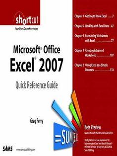 Prezzi e Sconti: #Microsoft office excel 2007 quick reference  ad Euro 11.01 in #Libri #Libri