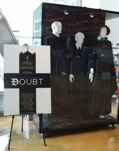 Doubt original costumes designed by Ann Roth for Meryl Streep, the late Philip Seymour Hoffman and more: