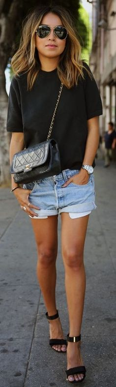 Vintage Chanel Bag Inspiration Outfit by Sincerely Jules