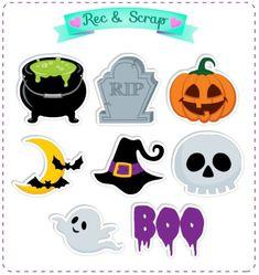 Halloween Jelly, Dulceros Halloween, Moldes Halloween, Halloween Templates, Manualidades Halloween, Adornos Halloween, Halloween Stickers, Halloween Pictures, Halloween Decorations For Kids