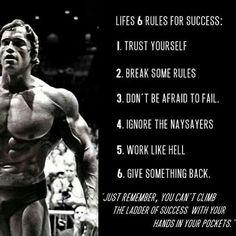 Arnold Schwarzenegger 》 Fitness Motivation