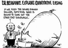 #Quantitative Easing Explained By Dr. #Bernake