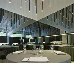 Gastromium, restaurant in Sevilla, Spain by architect Francesc Rife (photo © Fernando Alda) _