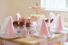 Prinses cupcakeparty