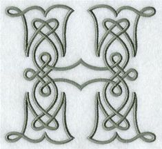 Machine Embroidery Designs at Embroidery Library! - A Celtic Knotwork Alphabet Design Pack Inch Height) Embroidery Alphabet, Embroidery Fonts, Machine Embroidery Designs, Hand Embroidery, Celtic Fonts, Celtic Symbols, Celtic Art, Celtic Patterns, Celtic Designs