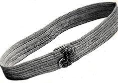 Crochet Stitches, Crochet Hooks, Free Crochet, Vintage Crochet Patterns, Sewing A Button, Twine, Free Pattern, Belt, Cotton