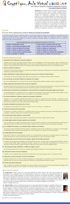 Crypt4you: aula virtual (Universidad Politécnica de Madrid)