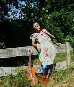 Farb- und Stilberatung mit www.farben-reich.com - L♥CELEBRATION♥Mini & Haarband Folklore Mexiko Boho von NEWMEXICAN auf DaWanda.com