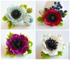 How to Make Red Chocolate Poppy Flower Bouquet Fondant Flowers, Sugar Flowers, Felt Flowers, Diy Flowers, Fabric Flowers, Poppy Flower Bouquet, Anemone Flower, Flower Corsage, Fleurs Diy
