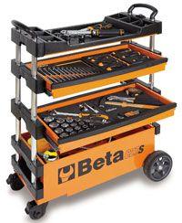 Pegasus Part No. BT-027000201 - Beta Tools C27S Outdoor Folding Tool Trolley