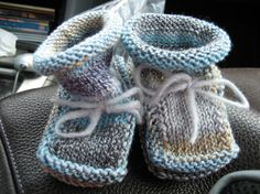 Christine's Stay-On Baby Booties by Christine Bourquin  view nutopian's Shotgun Wedding Booties  by nutopian Flickr