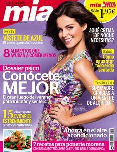 Revista MÍA 1498, #junio 2015. #MartaTorné, la chica de #moda. Dossier #psico: conócete mejor. Vientres de alquiler. Vístete de azul. ¿Qué #crema de noche necesitas?