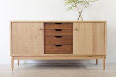 Sideboard by Jonathan West - White Oak, Tasmanian Blackwood, Sideboard, Credenza