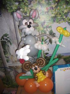 """Том и Джери - Как ЭТО сделать? - Клуб """"Воздушные шары"""""""