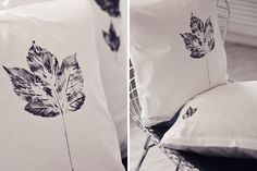Leaf Pillow Cases