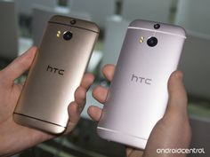 In pictures: The HTC One (M8) in silver and gold - http://mobilemakers.org/in-pictures-the-htc-one-m8-in-silver-and-gold/