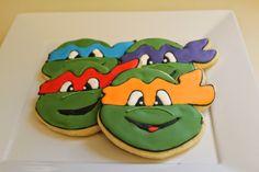 Suzy Social Worker by Day.... Betty Crocker By Night...: TMNT- Teenage Mutant Ninja Turtles- Cookies