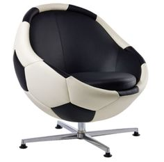 soccer chair- I love the chair idea but it would have to be something different then a soccer ball ;)