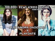 Alexandra Daddario x Playdate | 2K | - YouTube