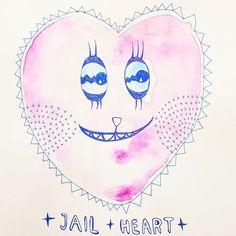 ☆♡ #knacki ♡☆ . . #smileyheart who was put into #jail for not loving the proper ways. . . before & after . . #prison #love #ink #watercolor #illustration #creativemag #craftsposure #art_we_inspire #artwork #shiny  #craftsposure #creativemag #electronicmusic #supplyanddesign #illustrationage #picame #illustree #dribbblers #illustrationoftheday #flow_magazine #etsy #illustrateyourworld #elektronik  #techno  #organic #bookillustration . . . .... honestly I really don't wtf I'm drawing here