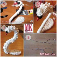 Ribbon Art, Diy Ribbon, Ribbon Crafts, Fabric Flowers, Paper Flowers, Ribbon Sculpture, Kanzashi Flowers, Silk Ribbon Embroidery, Diy Arts And Crafts